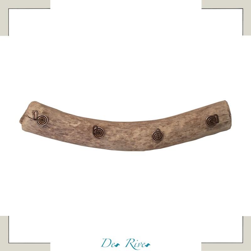 Porte-manteaux bois flotté Rideti